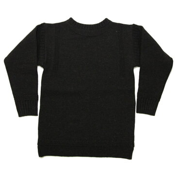ティージー カットソー バスク シャツ Tieasy Authentic オーセンティック ×ISLAND KNIT WORKS Fisherman's Sweater D.K.Brown フィッシャーマンズセーター