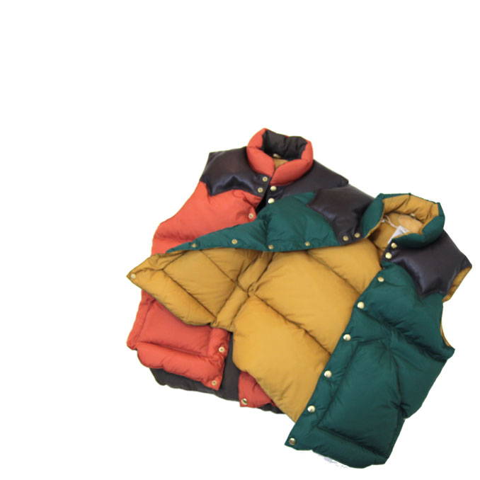 ROCKY MOUNTAIN FEATHERBED(ロッキーマウンテンフェザーベッド)MENS DOWN VEST メンズダウンベスト:OntheEarth Store