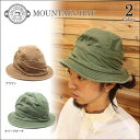【DECHO/デコー】MOUNTAIN HAT 2color