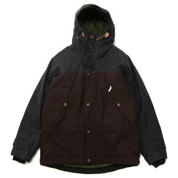 MANIFATTURA CECCARELLI(マニファッツュラ チェッカレッリ)SP.Two Tone Mountain Jacket Chocolate/Brown 2トーンマウンテンジャケット アウター AW