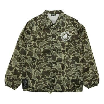 ジョニーバード デイリーウェア Johnny Bird Daily Wear LOGO COACH JACKET Hunter Camo ロゴコーチジャケット ジャケット