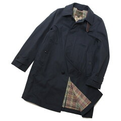 Nigel Cabourn Balmacaan Coat Halftex 80350000003: Dark Navy