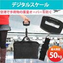 送料無料 デジタルスケール 吊り下げ 計測 50kg まで 重量オーバー 防止 旅行 電子 はかり デジタル デジタルはかり 空港 手荷物 バックル式 ER-HANDDSCALE(A09-L)