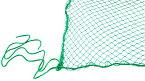 園芸ネット 2m×3m 25mm目 グリーンネット 養生ネット 防鳥ネット