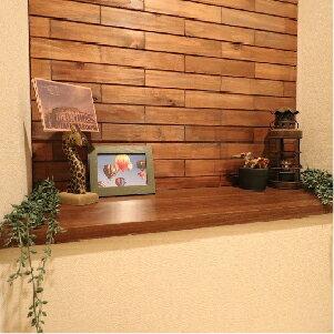 ウッドタイル 天然木 DIY 室内壁材 ウッドパネル レンガ調 フラットデザイン 1平米(100枚入)セット 国産杉使用