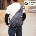 グランドストーン GRANDSTONE ボディバッグ ワンショルダーバッグ B5対応 バランス 8061