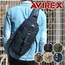 楽天アビレックス(アヴィレックス) AVIREX ワンショルダーバッグ ボディバッグ EAGLE イーグル AVX305