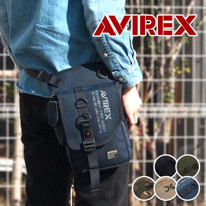 アビレックス アヴィレックス AVIREX 2WAYレッグバッグ ショルダーバッグ EAGLE イーグル AVX348