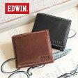 エドウィン EDWIN 二つ折り財布/2つ折財布 0510430 メンズ財布 紳士財布 牛革 本革 レザー カジュアル シンプル 送料無料 【あす楽対応】