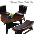 3人用食卓テーブルセットでシックなデザインのオススメを教えてください!