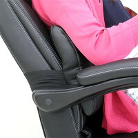 リクライニングオフィスチェアフットレストオットマン付リクライニングチェアハイバック合成皮革昇降式キャスター付きクッション付きブラック回転デスクチェアパーソナルチェアー椅子イス北欧モダン送料無料05P19Dec15