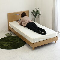 シングルベッドマットレス付ベッドすのこベットフレーム北欧シンプルモダン送料無料05P06May15