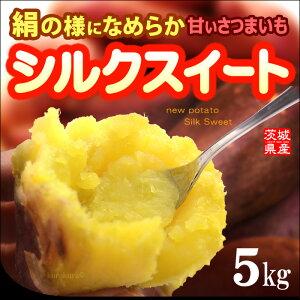 【送料無料】高糖度!絹の様に滑らかな食感「シルクスイート」茨城産【焼き芋・焼芋・薩摩芋・...
