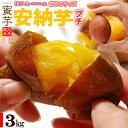 プチ安納芋(3kg)種子島産 安納いも さつまいも さつま芋 蜜 芋 あんのう いも 食品 野菜 きのこ サツマイモ 種子島 小玉 2S 3S 訳あり 安納芋 送料無料の商品画像