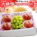 大糖領白桃×岡山マスカットのセット
