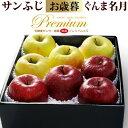5プレミアムサンふじ&ぐんま名月のセット(約2.8kg)青森産 リンゴ 林檎 青りんご 食品 フルーツ 果物 りんご 送料無料 お歳暮 ギフト