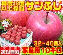 糖度13度以上保証 サンふじ 家庭用 10キロ青森りんご ふ...