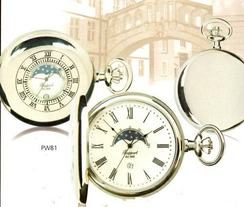 ラポート.PW81・懐中時計.提げ時計.ポケットウオッチ (クオーツ/ イギリス) ()