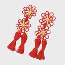 七五三 可愛らしい 花柄 飾り紐