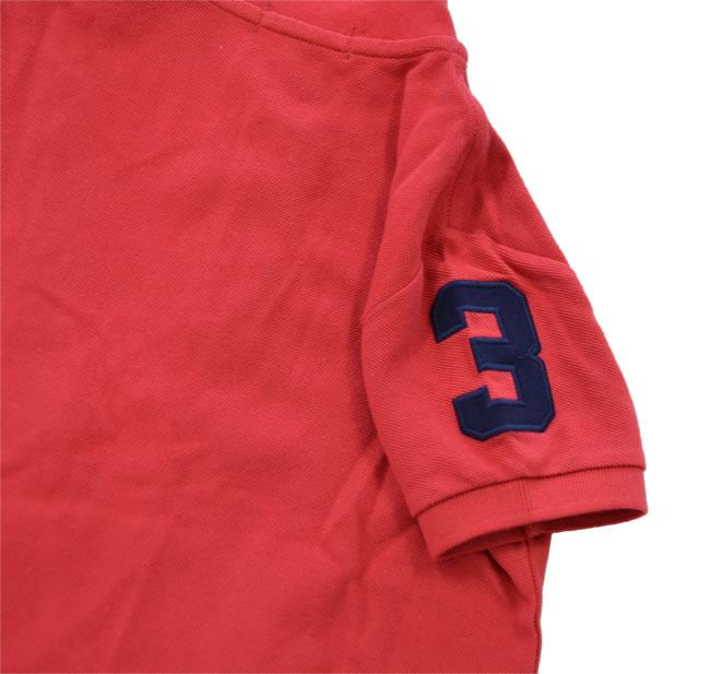 ラルフローレン / RALPH LAUREN 【正規品・本物】◆KIDS キッズ◆ポロシャツ◆サイズ:5◆カラー:レッド【即納】【あす楽対応_本州】
