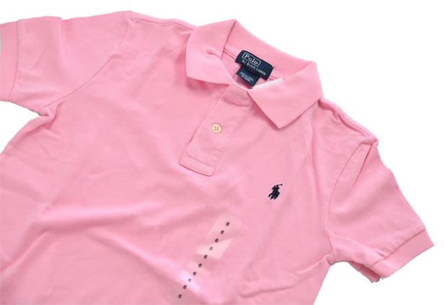 ラルフローレン / RALPH LAUREN 【正規品・本物】◆KIDS キッズ◆ポロシャツ◆サイズ:6◆カラー:ピンク【即納】【あす楽対応_本州】