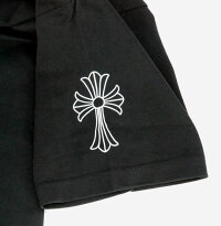 クロムハーツ/CHROMEHEARTS【正規品】【新品】◆メンズ半袖Tシャツ◆XXLサイズ◆ブラック黒【あす楽対応】【smtb-TD】【yokohama】【YDKG-td】