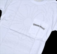 クロムハーツ/CHROMEHEARTS◆メンズ半袖Tシャツ◆Mサイズ◆ホワイト【あす楽対応】【正規品】【smtb-TD】【yokohama】【YDKG-f】