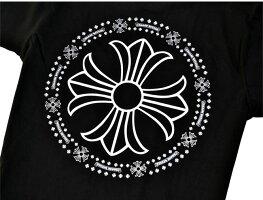 クロムハーツCHROMEHEARTS◆メンズ半袖Tシャツ◆Mサイズ◆ブラック黒【あす楽対応】【正規品】【smtb-TD】【yokohama】【YDKG-td】