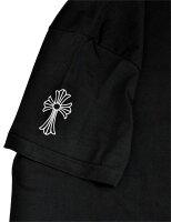 クロムハーツCHROMEHEARTS◆メンズ半袖Tシャツ◆XXLサイズ◆ブラック黒【あす楽対応】【正規品】【smtb-TD】【yokohama】【YDKG-td】