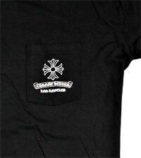 クロムハーツCHROMEHEARTS【LA限定】◆メンズ半袖Tシャツ◆ブラック黒【あす楽対応】【正規品】【smtb-TD】【yokohama】【YDKG-td】
