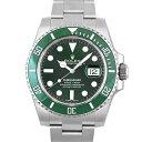 ロレックス ROLEX グリーンサブマリーナ 116610L...