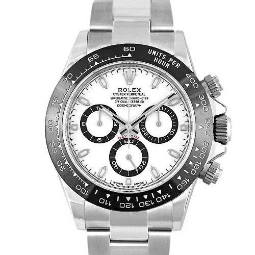 ロレックスROLEXデイトナ116500LNSS40mmホワイト文字盤   新品  メンズ  腕時計  本店_61588