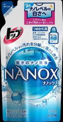 ナノレベルの白さ!トップ NANOX つめかえ用 360g まとめ買い24個