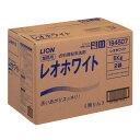 レオホワイト10kg業務用粉末衣料洗剤