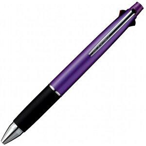 ジェットストリーム 4&1多機能ペン [黒/赤/青/緑+シャープペンシル] 0.5mm パープル MSXE5-1000-05