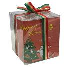 【御予約商品】クリスマスほうじ茶ティーバッグとお菓子セット