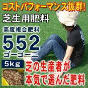 芝生の肥料芝生の葉色を濃くして、茎を元気にし、病気にも強くなる