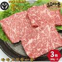 七厘焼肉 姫路金べこ 三田和牛 モモ ステーキ 3枚 (約100g×3枚) お肉 厳選 お取り寄せ お取り寄せグルメ