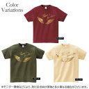 Tシャツ 翼 かっこいい オリジナル オーバーサイズ アメカジ 英語 自由への翼 大きいサイズ 厚めの生地 人気のスタンダートTシャツ 3