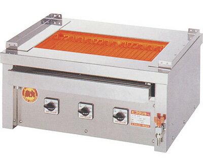 ヒゴグリラー 万能型タイプ 卓上型 3P-218C【代引き不可】【業務用】【焼台】【串焼き】【蒲焼】【電気グリラー】【下火】【魚焼器】【網焼き】【コンパクト】