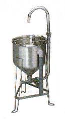 RWO-28型ドラフト洗米機【代引き不可】【業務用洗米機 洗米器】【業務用】:OPEN キッチン