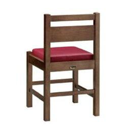 阿山D椅子ダークブラウン1155-1867(カスリレザー)