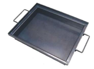 角型鉄餃子鍋 取手付 【脱水機 水切り機】【ギョーザ】【業務用】