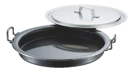 鉄プレス餃子鍋 36cm 【業務用鍋】【ギョーザ】【点心鍋】【業務用】