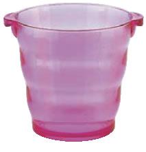 アクリル シャンパンクーラー KY-274-R レッド【シャンパンクーラー】【ボトルクーラー】【ワインクーラー】【業務用】