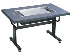 お好み焼鉄板ロースターHHN-6036D洋卓木目ベージュ都市ガス13A
