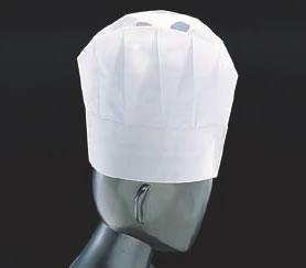 コンチネンタルシェフハット A80000 (50枚入)【帽子】【白衣 ユニフォーム 作業着】【コック帽】【飲食店用】【業務用】