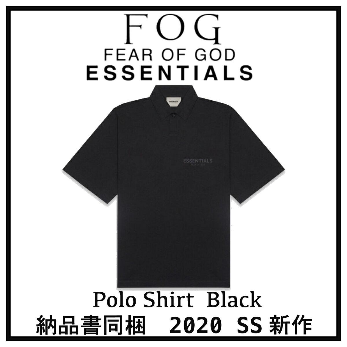 トップス, ポロシャツ 2020 FOG FEAR OF GOD ESSENTIALS