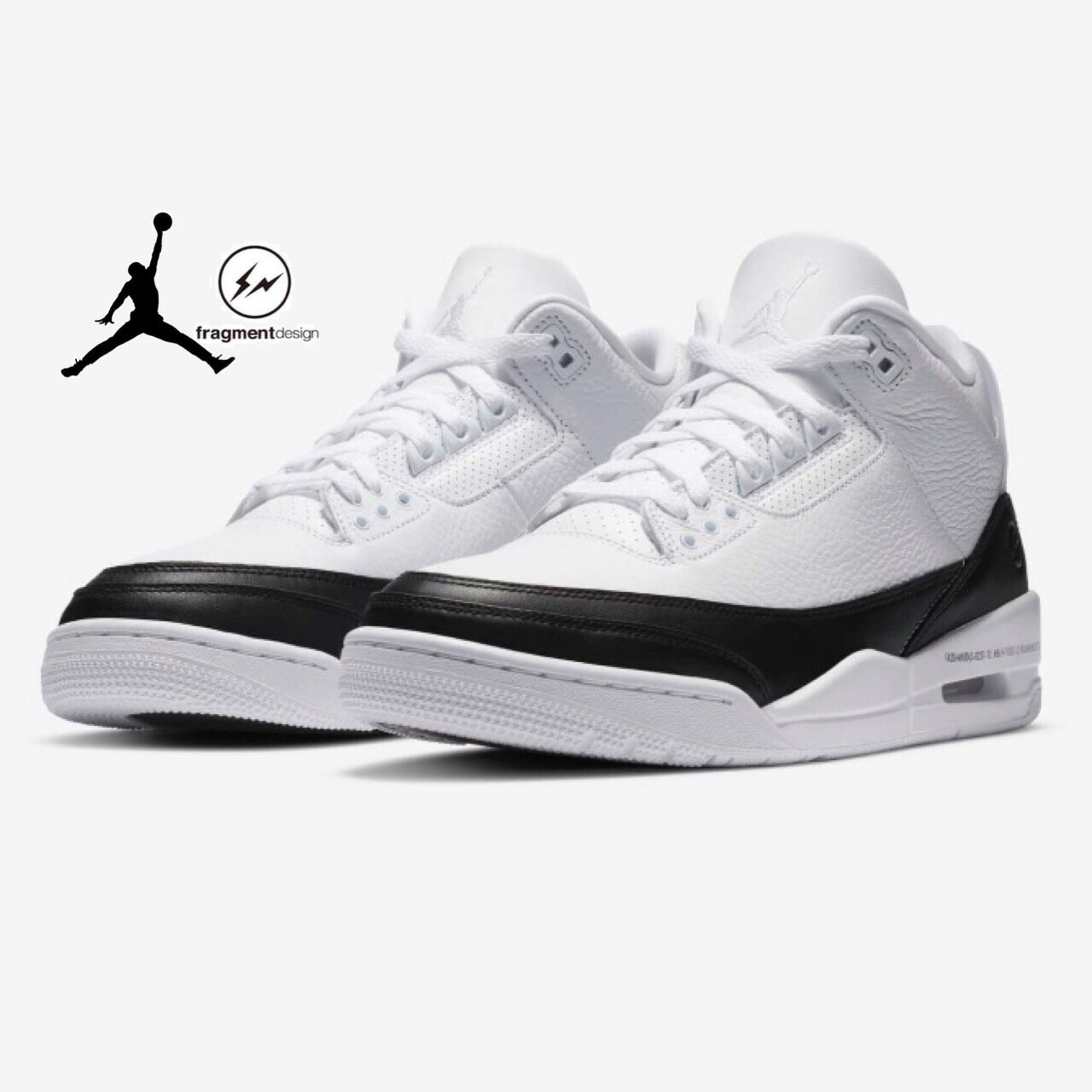 メンズ靴, スニーカー FRAGMENTNIKE AIR JORDAN 3 RETRO sneaker DA3595-100