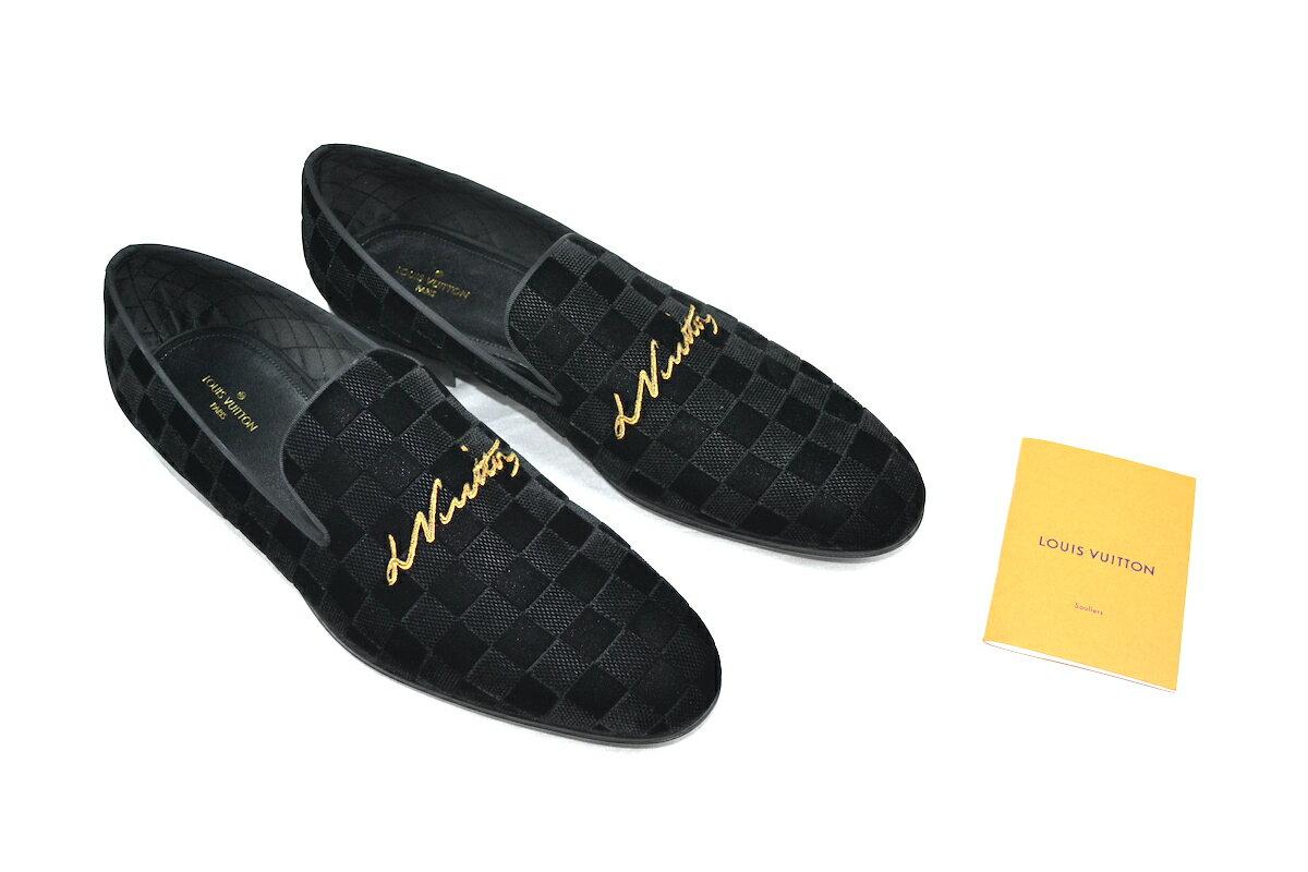 メンズ靴, ローファー LOUISVUITTON AUTEUIL SLIPPER 11 29.5cm